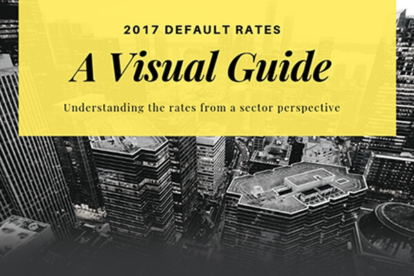 A visual guide to understanding the 2017 default rates