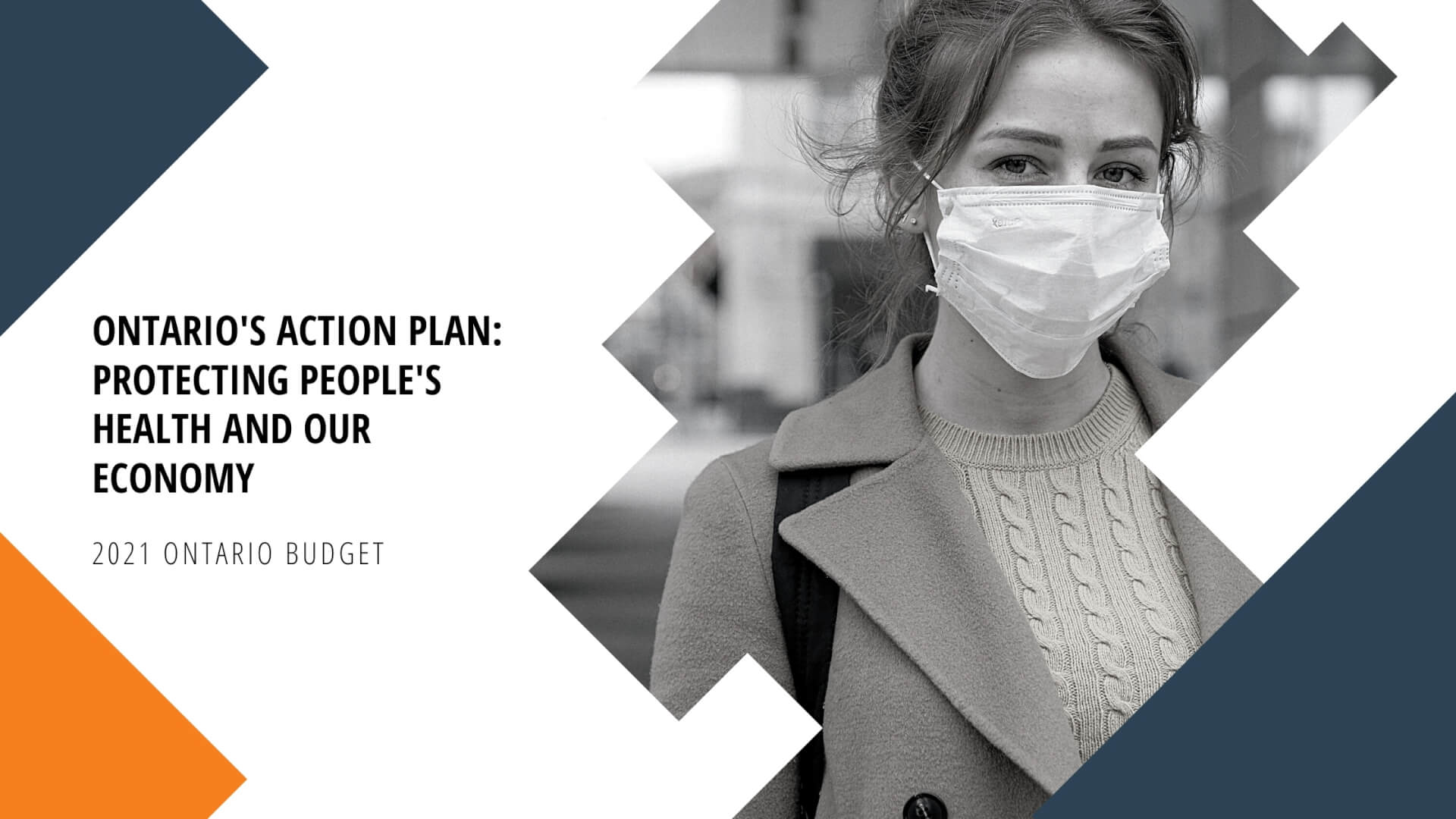 Ontario's Action Plan: Protecting People's Health and Our Economy